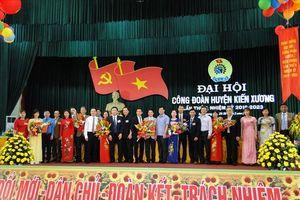Thái Bình: Đồng chí Phạm Văn Thành được bầu làm Chủ tịch LĐLĐ huyện Kiến Xương