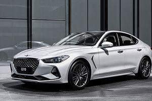 Sedan hạng sang Genesis G70 mới 'thách thức' BMW 3-Series