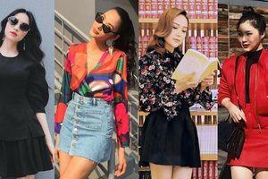 Chân váy ngắn nửa đùi: Item được mỹ nhân Việt ưu ái nhất đầu hè