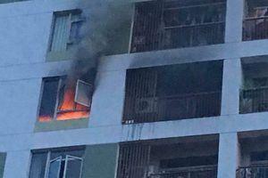Cháy chung cư ParcSpring ở Sài Gòn do cục sạc dự phòng