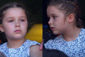 'Công chúa nhỏ' Harper xinh đẹp cùng bố Beckham xem quần vợt
