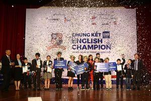 Chung kết English Champion 2018: Thí sinh tranh biện về thiết bị công nghệ cao