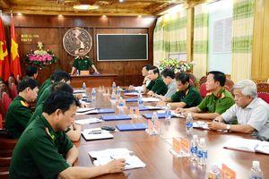 Đoàn công tác Bộ Quốc phòng làm việc với Bộ Chỉ huy Bộ đội Biên phòng tỉnh Kon Tum