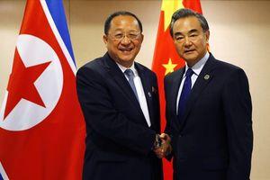 Sau ông Kim Jong-un, Ngoại trưởng Triều Tiên tiếp tục thăm Trung Quốc