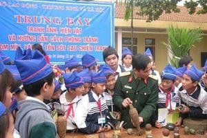 Việt Nam chung tay khắc phục hậu quả bom mìn sau chiến tranh