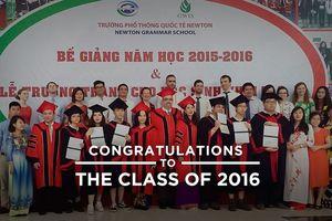 Thật tự hào những học sinh hệ GWIS trường Newton