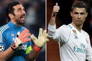 Buffon: 'Tôi lạnh gáy khi đối mặt Ronaldo'