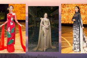 Đỗ Mỹ Linh diện áo dài 10 mét, Hương Giang Idol mặc lại váy cũ vẫn ung dung dẫn đầu top sao đẹp