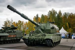 Nguyên nhân khiến siêu pháo tự hành 2S35 Koalitsiya-SV của Nga mãi chưa thoát cảnh 'ế ẩm'