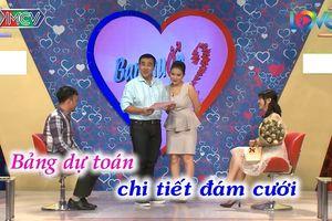 Chàng trai mang bảng dự toán đám cưới gần 400 triệu đi tìm vợ