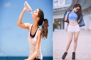 Học cách giảm cân nhanh bằng nước lọc của người Nhật giúp thải độc, da đẹp, dáng thon