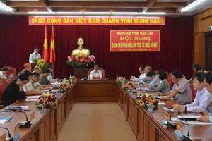 Hội nghị Ban Chấp hành Đảng bộ tỉnh Đắk Lắk mở rộng lần thứ 13