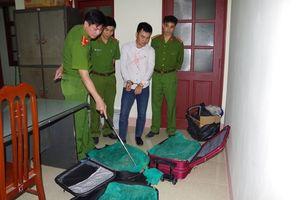 3 valy kéo đầy rắn hổ mang vận chuyển từ Sài Gòn ra Hà Nội