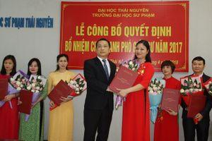 Trường Đại học Sư phạm Thái Nguyên bổ nhiệm 13 chức danh Phó Giáo sư