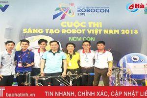 Cao đẳng nghề Công nghệ Hà Tĩnh vào vòng chung kết Robocon toàn quốc