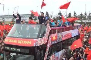 Cảnh diễu hành chào đón U23 Việt Nam bất ngờ xuất hiện trong show thực tế Hàn Quốc