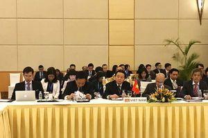 Hội nghị Bộ trưởng Mê Công chuẩn bị cho Hội nghị cấp cao lần thứ ba Ủy hội sông Mê Công quốc tế