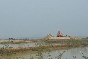 Tánh Linh- Bình Thuận: Lòng hồ Biển Lạc 'nham nhở' vì cát tặc?