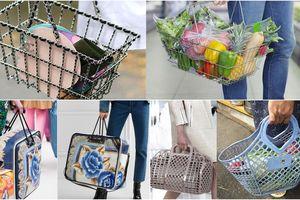 Những chiếc túi hiệu giá 'ngàn đô' nhưng không khác đồ đi chợ của các bà các mẹ là bao!