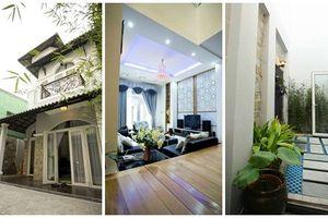 Ngắm nhà phố 2 tầng phong cách cổ điển ở Sài thành