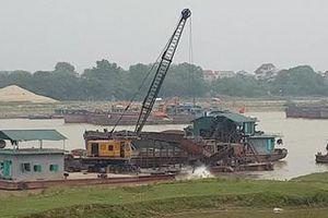 Việc kiểm soát khai thác cát, sỏi tại mỏ của Cty Tự Lập đang bị bỏ ngỏ?