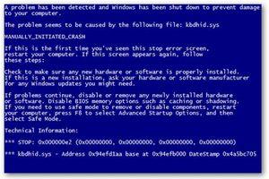 Nên làm gì khi gặp lỗi 'màn hình xanh chết chóc'