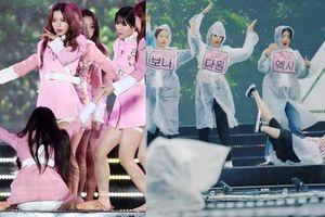 Idol Kpop nhảy bất chấp trời mưa: Nặng thì đi bệnh viện, nhẹ cũng té 'sấp mặt'