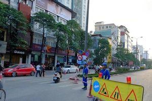 HN: Từ 20/4, rào hẹp đường Kim Mã phục vụ thi công đường sắt