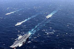Tung 40 chiến hạm rầm rộ tập trận trên Biển Đông, Trung Quốc muốn có 'hành động lớn'?
