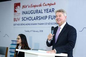 Đại học Anh Quốc Việt Nam khởi động quỹ học bổng 34 tỉ đồng cho học sinh, sinh viên tài năng