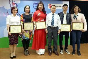Đài TNVN giành giải Nhất, Nhì 'Báo chí về trẻ em'