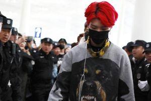 Mới vào showbiz, em trai Phạm Băng Băng đã có đội vệ sĩ bảo vệ