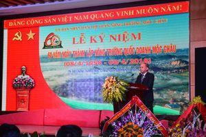Kỷ niệm 60 năm nông trường quốc doanh Mộc Châu