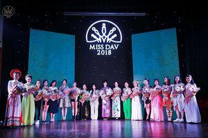 Cận cảnh nhan sắc các thí sinh lọt Chung kết Miss DAV 2018