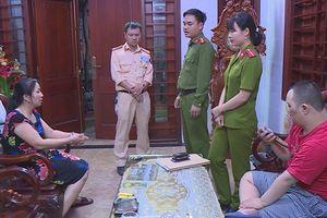 Triệt phá đường dây lô đề, cờ bạc lớn ở Hà Tĩnh, bắt giữ 14 đối tượng.