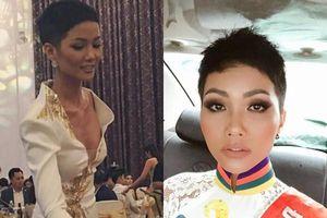 Sau ồn ào lộ điểm bất thường vùng nhạy cảm, Hoa hậu H'Hen Niê tiếp tục gây sốc với gương mặt khác lạ