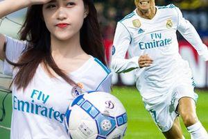 Đã xinh lại là fan ruột của Real Madrid, nữ sinh Tiền Giang gây bão dân mạng