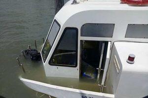 Xác định nguyên nhân gây chìm tàu chở khách trên biển Cần Giờ