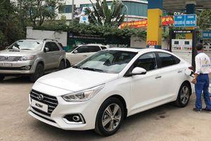 Hyundai Accent 2018 chưa mở bán đã xuất hiện trên phố Hà Nội