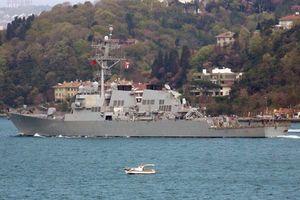 Mỹ điều chiến hạm mang Tomahawk tiến thẳng Syria