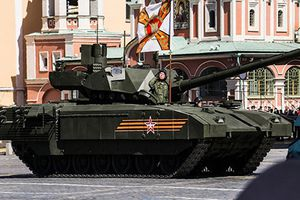 Ấn tượng sức mạnh xe tăng thế hệ thứ 4 đầu tiên của Nga