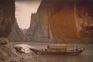Ảnh màu độc lạ về vịnh Hạ Long 100 năm trước