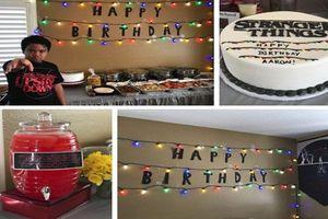Tiệc sinh nhật không bóng người của bé 8 tuổi và kết bất ngờ
