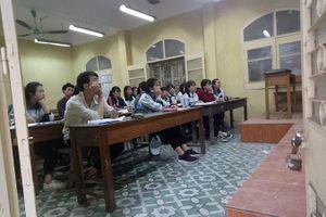 Hàng loạt trung tâm luyện thi đại học chiêu sinh trước kì thi THPT