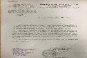 Chỉ đạo khẩn vụ Bình Chánh 'treo' cả ngàn giấy chứng nhận
