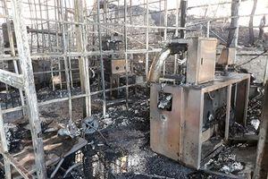 Cháy Công ty Sâm Ngọc Linh lúc rạng sáng