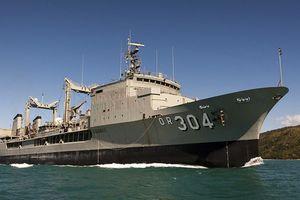 Bộ 3 tàu Hải quân Hoàng gia Úc thăm TP HCM