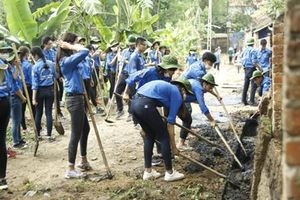 Góp sức cho hành trình ý nghĩa của đội sinh viên tình nguyện Kinh tế quốc dân