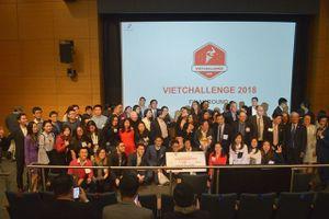 VioT giải Nhất cuộc thi khởi nghiệp toàn cầu VietChallenge 2018