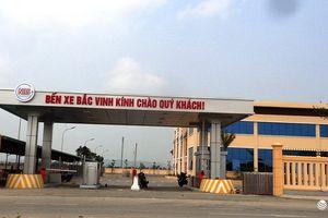 Nghệ An đóng cửa bến xe trung tâm, đưa bến xe Bắc Vinh vào hoạt động